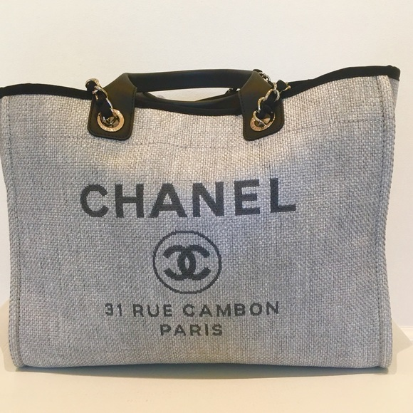 1068d01dc CHANEL Handbags - Chanel Deauville Tote